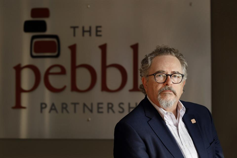 Tom Collier resigned as CEO of Pebble Partnership.