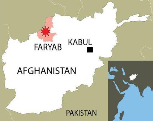 The blast happened in the Ghormach district of Faryab province
