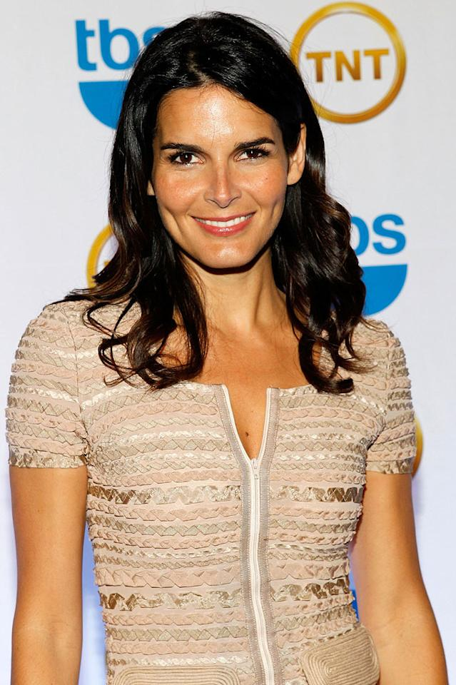"In addition to a new hit show, ""Rizzoli & Isles,"" brunette beauty Angie Harmon will have a birthday to toast on August 10. She'll be 38. Mark Von Holden/<a href=""http://www.wireimage.com"" target=""new"">WireImage.com</a> - May 19, 2010"