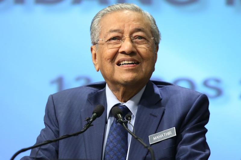 On Wednesday, Dr Mahathir will converse with members of the US Council of Foreign Relations in the morning, during which he will speak about 'New Malaysia' as well as its relations with the US and Asian neighbours. — Picture by Azinuddin Ghazali