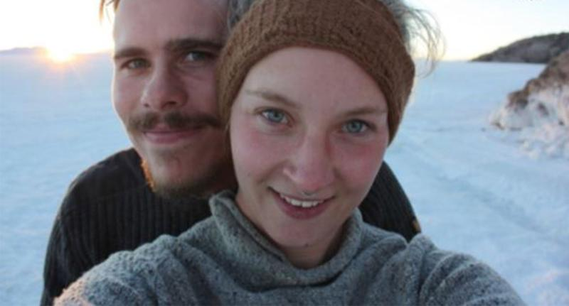 Picture of German nationals Benjamin Kress and Nathalie Eich the missing couple who has not been seen since July 21