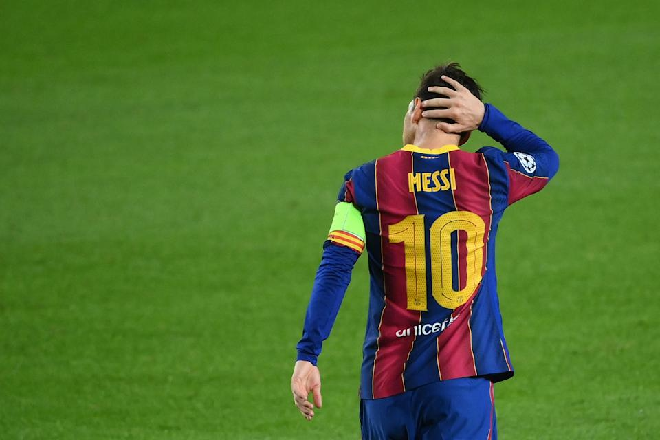 Some have argued Lionel Messi is blocking the potential for a drastic Barcelona rebuild (AFP)