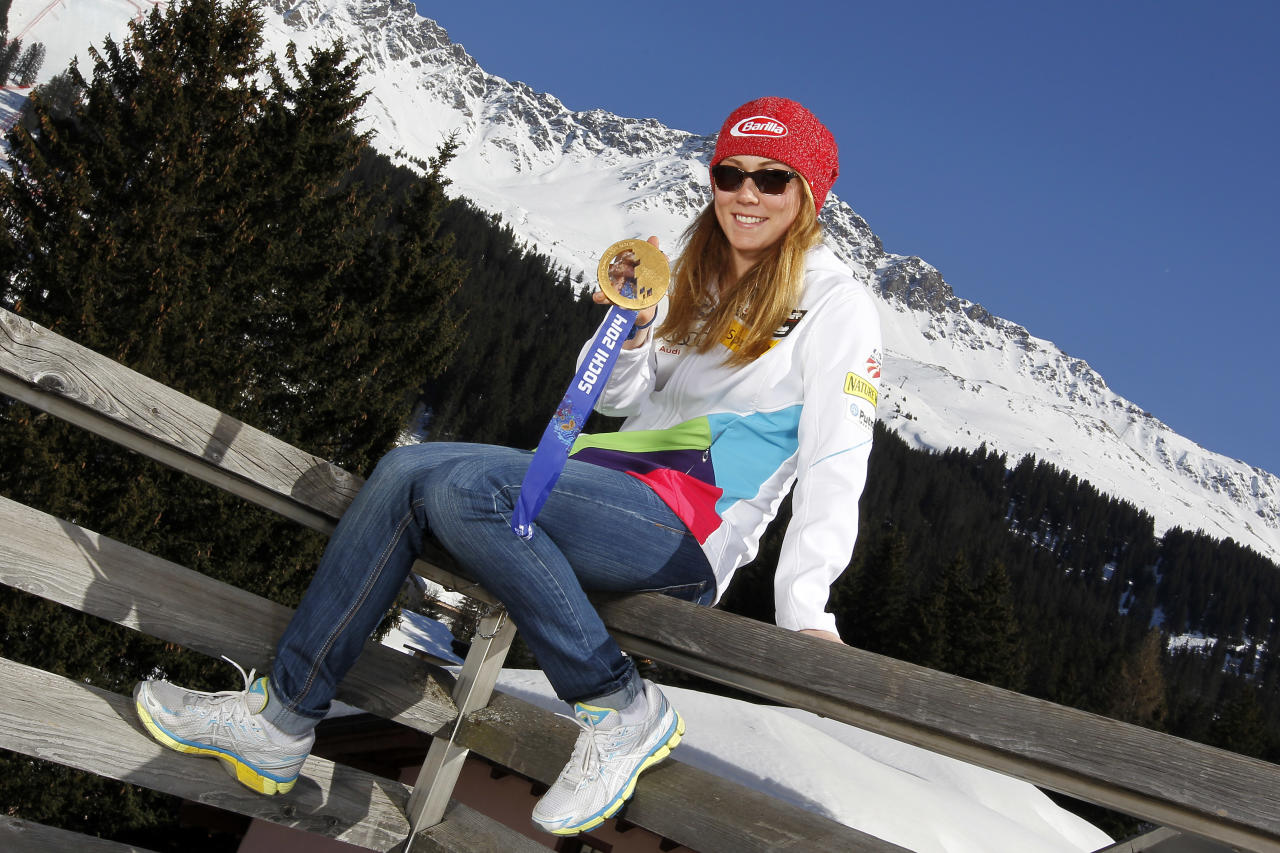 <p>She's aiming to become the first woman to win consecutive Olympic gold medals in the slalom. No American has ever medaled in the event more than once. </p>