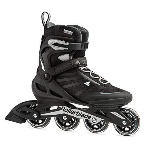 """<p><strong>Rollerblade</strong></p><p>amazon.com</p><p><strong>$120.79</strong></p><p><a href=""""https://www.amazon.com/dp/B07G2M76HM?tag=syn-yahoo-20&ascsubtag=%5Bartid%7C2139.g.34587394%5Bsrc%7Cyahoo-us"""" rel=""""nofollow noopener"""" target=""""_blank"""" data-ylk=""""slk:BUY IT HERE"""" class=""""link rapid-noclick-resp"""">BUY IT HERE</a></p><p>These blades are a great novice option. They have over 1,000 near-perfect reviews on Amazon for their comfort and secure fit. The high boot aids in security and balance but usually isn't ideal for speed demons. They are a #1 best-seller in the Rollerblade Amazon store.</p>"""