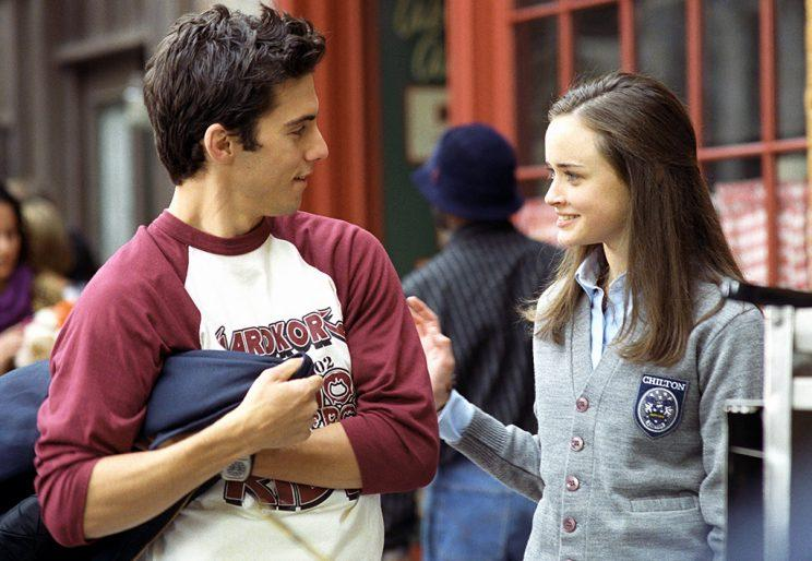 Milo Ventimiglia and Alexis Bledel (Credit: Everett Collection)