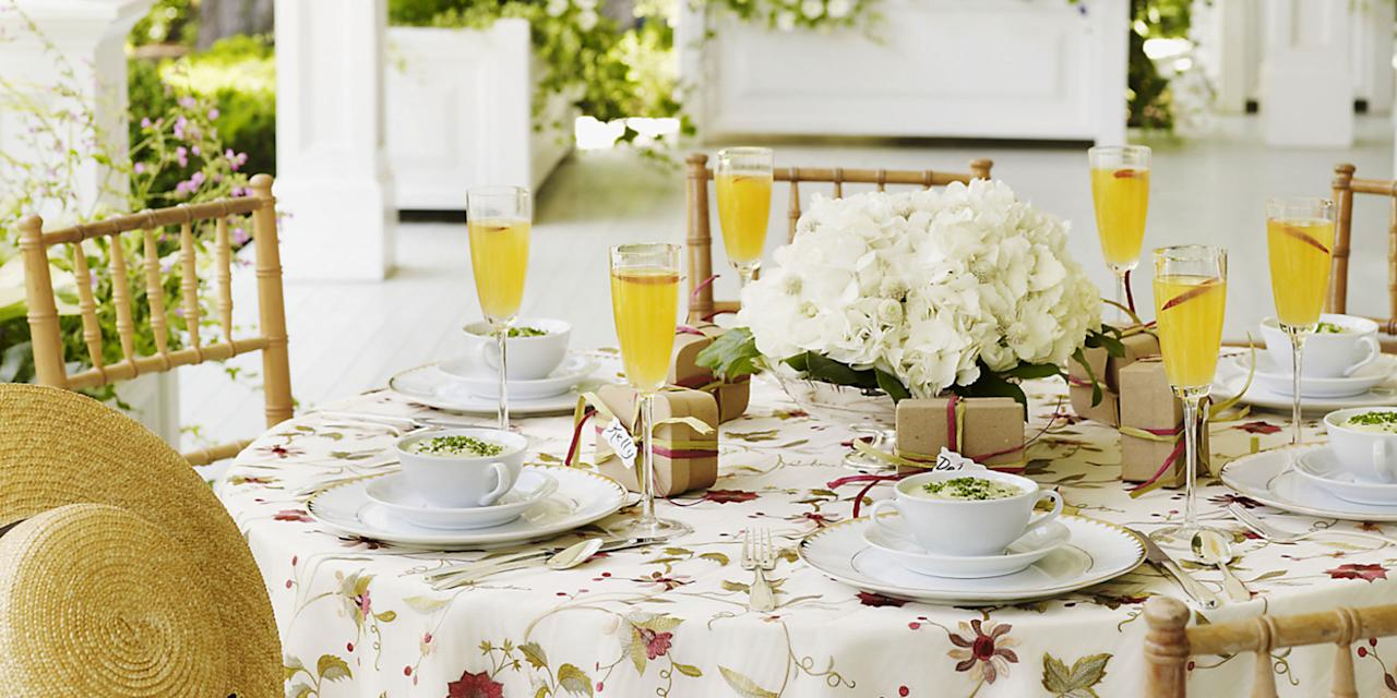 "<p>Celebrate Mom with <a rel=""nofollow"">breakfast recipes fit for a queen</a>: egg-and-sausage casserole, garlic potatoes, just-baked scones—even mango mimosas.</p>"