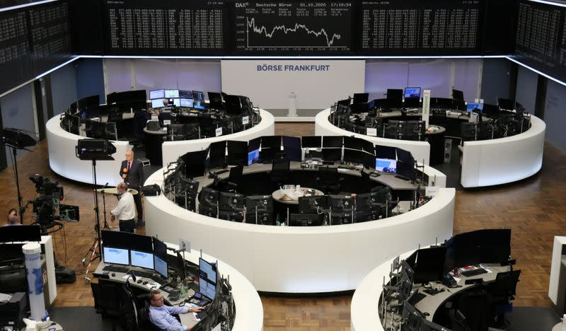 European stock futures drop 1% after Trump tests positive for COVID-19