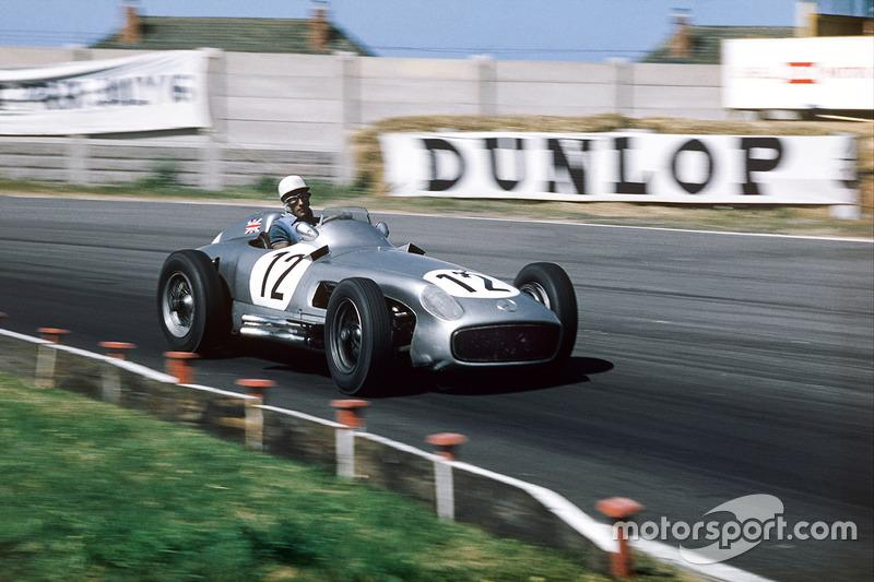 "12: Stirling Moss, Mercedes Benz W196<span class=""copyright"">LAT Images</span>"