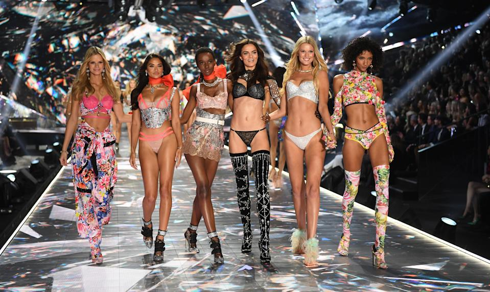 2018 Victoria's Secret Fashion Show on November 8, 2018 at Pier 94 in New York City