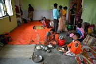 More than 1.5 million people have been forced into evacuation centres, but officials fear the spread of Covid-19 in the shelters