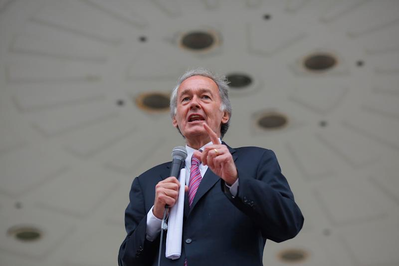 Sen. Ed Markey (above) is facing a tough primary challenge from Rep. Joe Kennedy III. (Photo: Brian Snyder/Reuters)