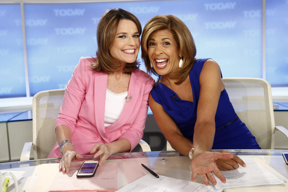 Hoda Kotb and Savannah Guthrie will co-anchor Today, in the wake of Matt Lauer's firing. (Photo: Getty Images)