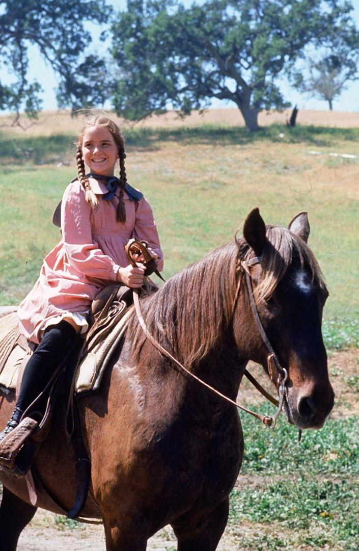 """<p>Melissa worked on dozens of TV commercials as a kid before being cast in the TV series <em><a href=""""https://www.amazon.com/Little-House-Prairie-Pilot/dp/B00J8BZRF0?tag=syn-yahoo-20&ascsubtag=%5Bartid%7C10050.g.24736857%5Bsrc%7Cyahoo-us"""" rel=""""nofollow noopener"""" target=""""_blank"""" data-ylk=""""slk:Little House on the Prairie"""" class=""""link rapid-noclick-resp"""">Little House on the Prairie</a> </em>in 1974. Reportedly, she was one of 500 little girls to audition for the part, according to <a href=""""https://www.biography.com/people/melissa-gilbert-9542501"""" rel=""""nofollow noopener"""" target=""""_blank"""" data-ylk=""""slk:Biography"""" class=""""link rapid-noclick-resp"""">Biography</a>. She actually grew up in front of the cameras and was well-known by the time the show ended its run in 1983. She has continued to work regularly on TV and on stage.</p>"""