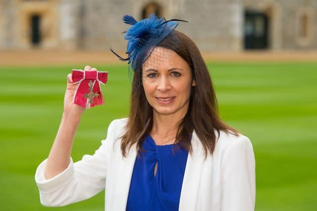 Pavey was made an MBE in 2015 for her services to athletics (PA).