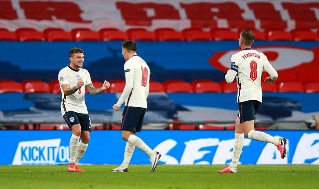 Mason Mount scored England's winner against Belgium last month