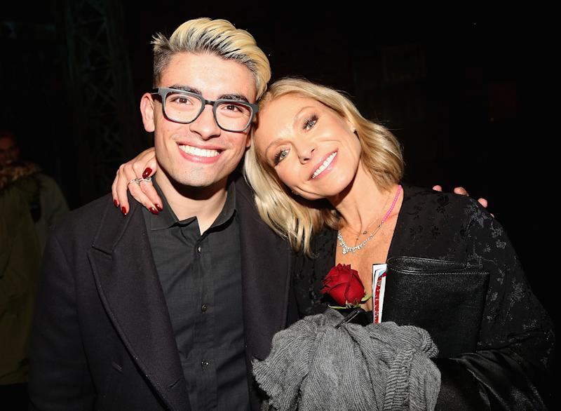 Kelly Ripa Celebrates Son Michael\'s 21st Birthday with Adorable Look ...