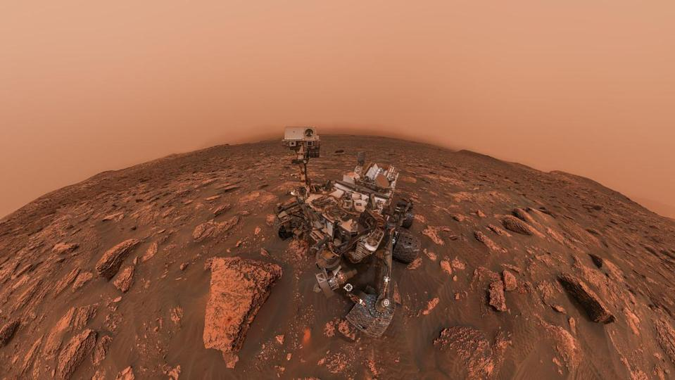 """Thanks to the """"MOXIE"""" instrument aboard NASA's Perseverance rover, humanity has produced breathable oxygen on Mars for the first time ever."""