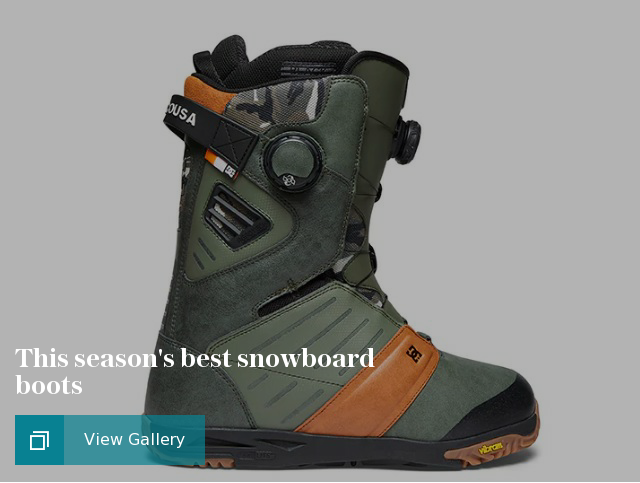 This season's best snowboard boots