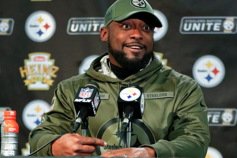 Steelers head coach Mike Tomlin says he has not heard from Le'Veon Bell all season
