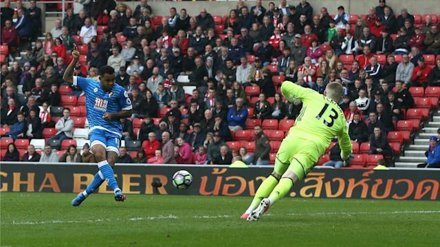 Bournemouth are virtually safe after winning 1-0 at Sunderland on Saturday, with the Black Cats relegated from the Premier League.