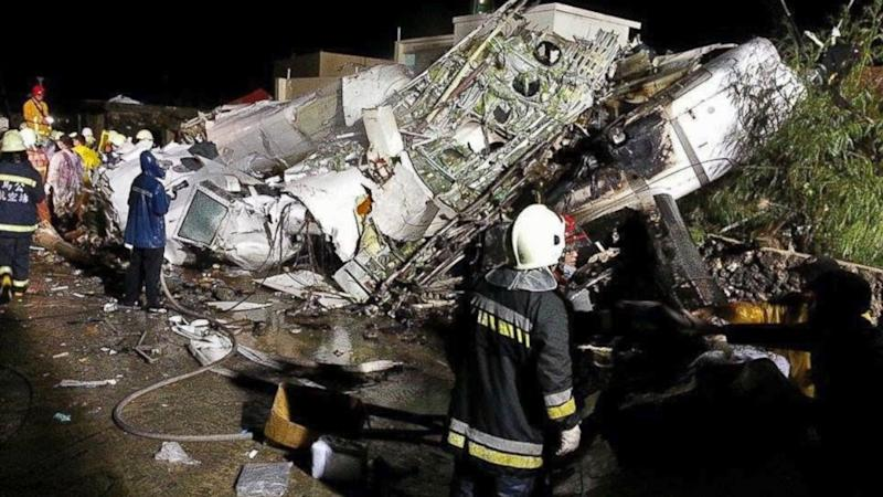 Taiwan Plane Crash in Typhoon's Tail Kills 47