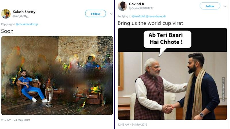 'Layega to Kohli Hi', ICC Cricket World Cup 2019 Funny and Encouraging Memes Take Over the Internet Before Start of CWC in England