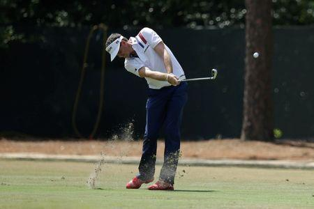 Keegan Bradley hits a fairway shot on the 3rd hole during the third round of the 2014 U.S. Open golf tournament at Pinehurst Resort Country Club - #2 Course. Mandatory Credit: Jason Getz-USA TODAY Sports