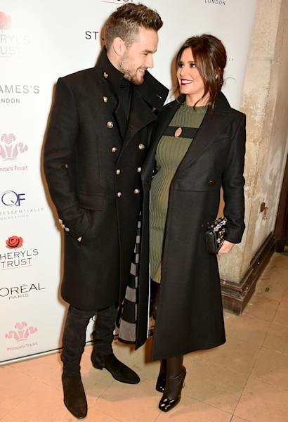 Pregnant Cheryl Cole debuted her baby bump while out with boyfriend Liam Payne on Tuesday, November 29 — see the pics