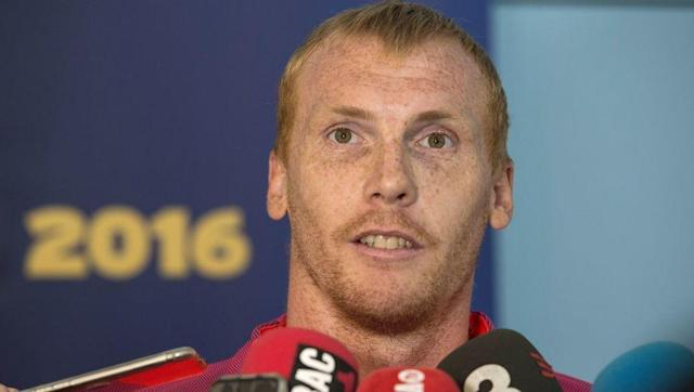 <p>Jeremy Mathieu is a product of Barcelona's unique recruitment strategy, which evidently involves signing players who look like they should be teaching geography as a substitute teacher.</p> <br><p>Coincidentally, Mathieu also plays like a substitute teacher and could not have looked more out of place at Barcelona as he spent three seasons in Spain before leaving on a free transfer.</p> <br><p>If teaching doesn't work out Mathieu you can pursue a career as a Tony Hibbert lookalike, if Hibbert was fifty years younger.</p>