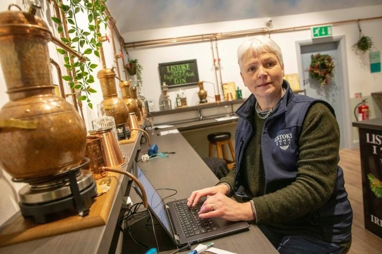 """You could say it's a very, very strong gin,"" said managing director Bronagh Conlon. ""We would absolutely not recommend anybody to drink it"""