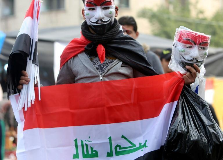 Since anti-government protests began in Iraq on October 1, protesters and activists have been abducted by unidentified gunmen almost daily (AFP Photo/SABAH ARAR)