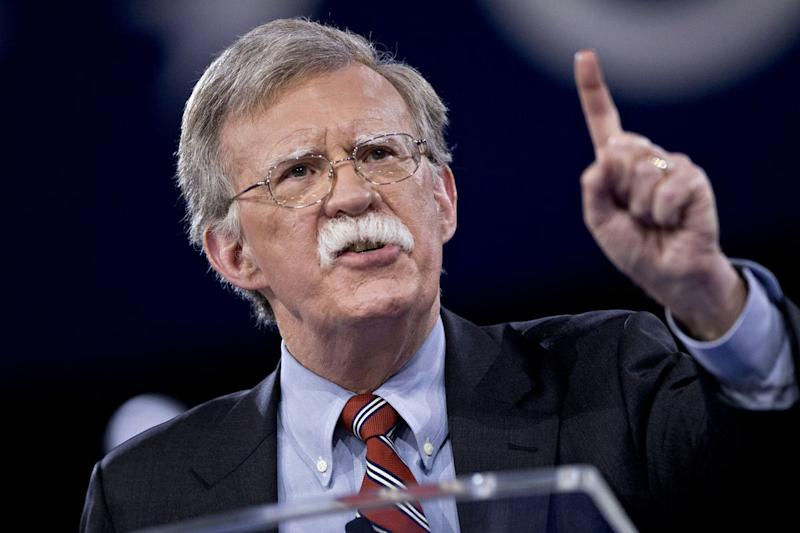 Bolton Emerges as Potential Wrecking Ball for Trump's Kim Summit