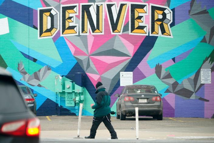 Interested in exploring street art? You can take a 5-mile graffiti tour in Denver.