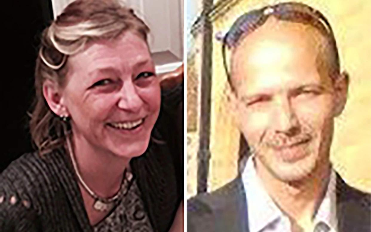 Dawn Sturgess and Charlie Rowley were both treated for Novichok poisoning, and Ms Sturgess later died (PA Images)