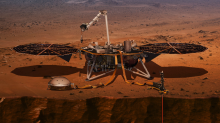 NASA is going to live stream the touchdown of its new Mars lander