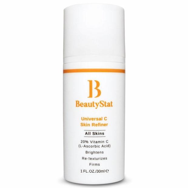 """<p>BeautyStat Universal C Skin Refiner, $60 (from $80), <a href=""""https://shop-links.co/1729320057606106240"""" rel=""""nofollow noopener"""" target=""""_blank"""" data-ylk=""""slk:available here"""" class=""""link rapid-noclick-resp"""">available here</a>.</p>"""