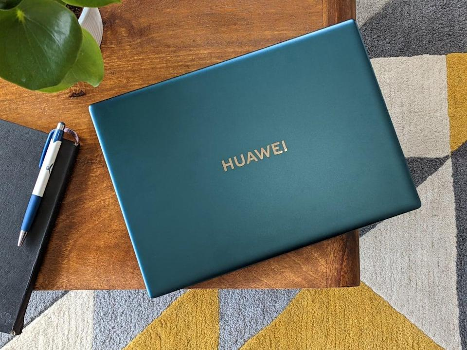 The Huawei matebook X pro in emerald green is simply gorgeous (Steve Hogarty)