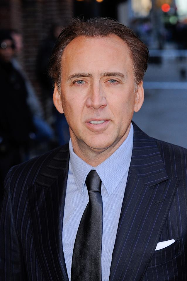 "Celebrity name: Nicolas Cage Birth name: Nicolas Kim Coppola The star of ""Ghost Rider: Spirit of Vengeance"" is Francis Ford Coppola's nephew. Not that you'd know it from his name."