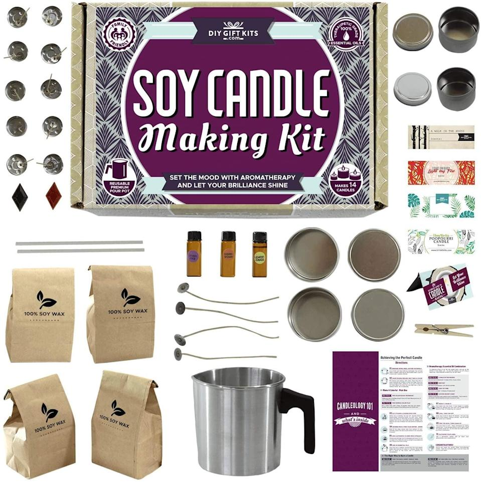 <p>The <span>Soy Candle Making Kit</span> ($55) is a candle-lover's dream.</p>