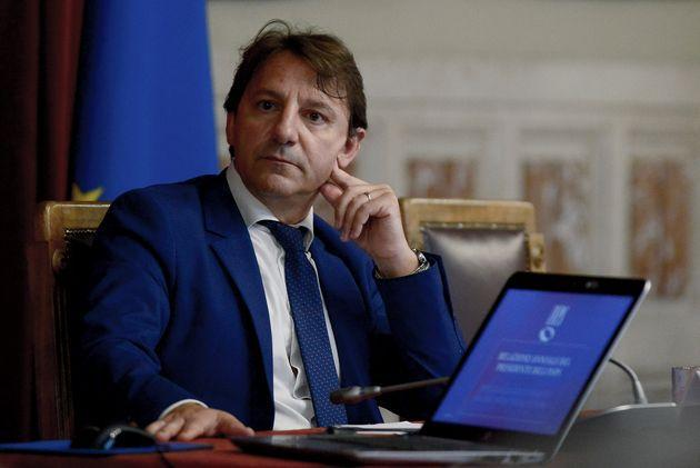 ROME, ITALY - JULY 10:President of INPS Pasquale Tridico attends the Presentation to the Chamber of Deputies of the Annual Report of INPS (National Institute of Social Security),  on July 10, 2019 in Rome, Italy. (Photo by Simona Granati - Corbis/Getty Images,) (Photo: Simona Granati - Corbis via Getty Images)