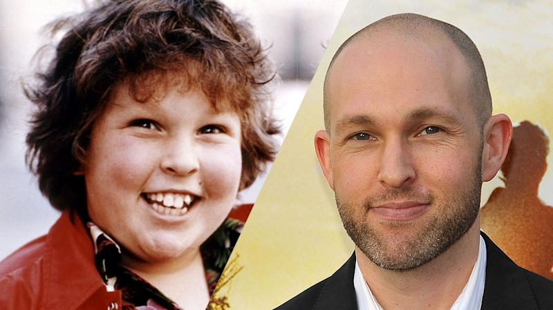 Jeff Cohen then and now (credit: Warner Brothers)