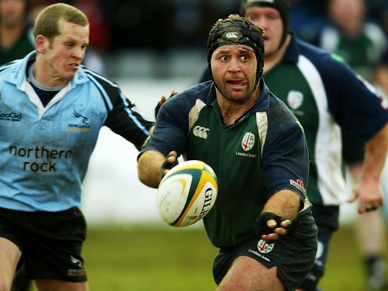 Drotske joined London Irish in 2001 (Getty)