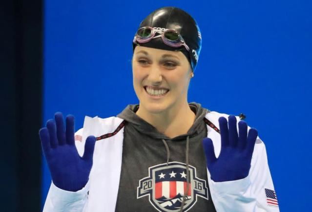 FILE PHOTO: Born on May 10, 1995: Missy Franklin, American swimmer