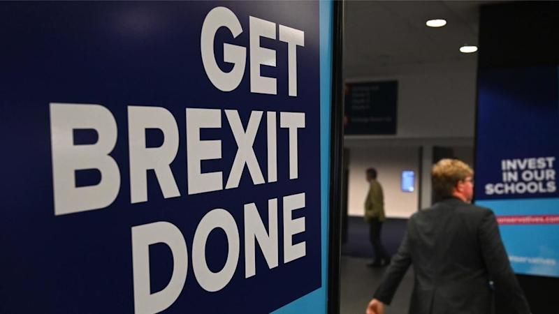 UK Conservative Party vows at annual conference to 'get Brexit done'