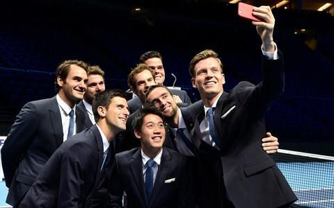 <span>Novak Djokovic (bottom left) has called for the venue to change</span> <span>Credit: reuters </span>