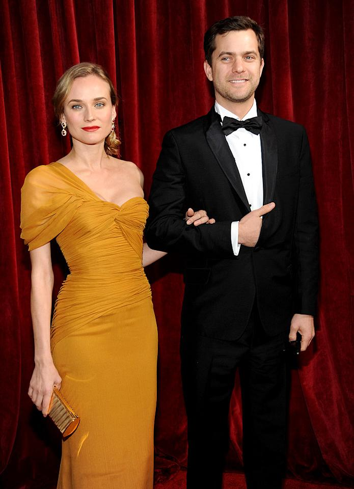 """Model-turned-actress Diane Kruger has said she has no plans to marry her longtime boyfriend, sexy """"Fringe"""" star Joshua Jackson. However, the two recently moved from New York to LA together, and the gorgeous German often visits the set of Jackson's show in Vancouver. Kevin Mazur/<a href=""""http://www.wireimage.com"""" target=""""new"""">WireImage.com</a> - January 23, 2010"""