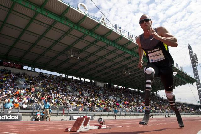 Oscar Pistorius of South Africa (REUTERS)