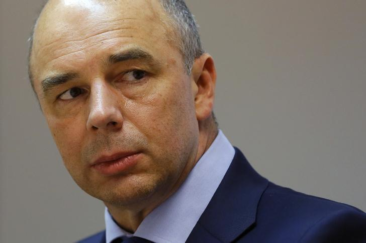 Russia's Finance Minister Anton Siluanov attends the Reuters Russia Investment Summit in Moscow