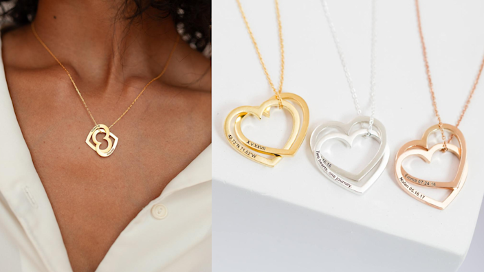 Best Valentine's Day gifts: Custom heart necklace