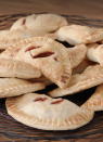 """<p>Air fryer's aren't just for meals, you can also make a pretty stellar dessert with your air fryer too. Just take this flavorful apple and raspberry mini pie for example.</p><p><em><a href=""""https://www.goodhousekeeping.com/food-recipes/dessert/a23621357/hand-pies-air-fryer-recipe/"""" rel=""""nofollow noopener"""" target=""""_blank"""" data-ylk=""""slk:Get the recipe and watch the video for Hand Pies >>"""" class=""""link rapid-noclick-resp"""">Get the recipe and watch the video for Hand Pies >></a></em></p>"""